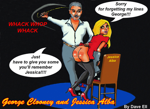 george clooney-jessica alba